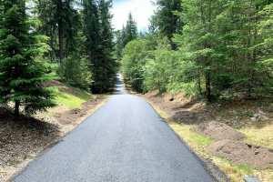 After Asphalt Driveway