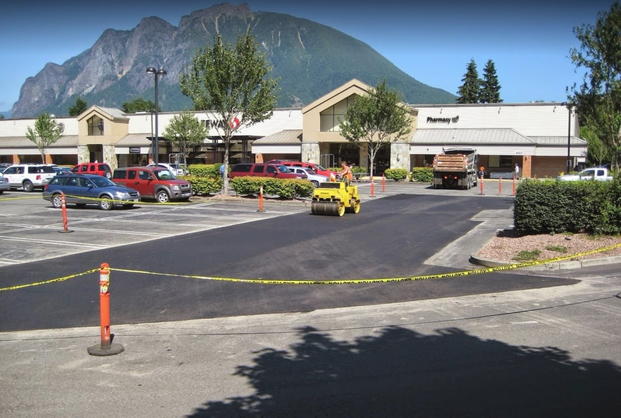 Commercial Paving Contractor Seattle